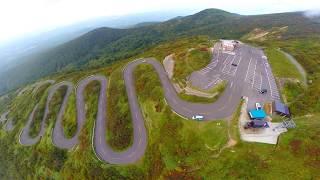 天空への路  (岩木山) 津軽岩木スカイラインから、山頂まで