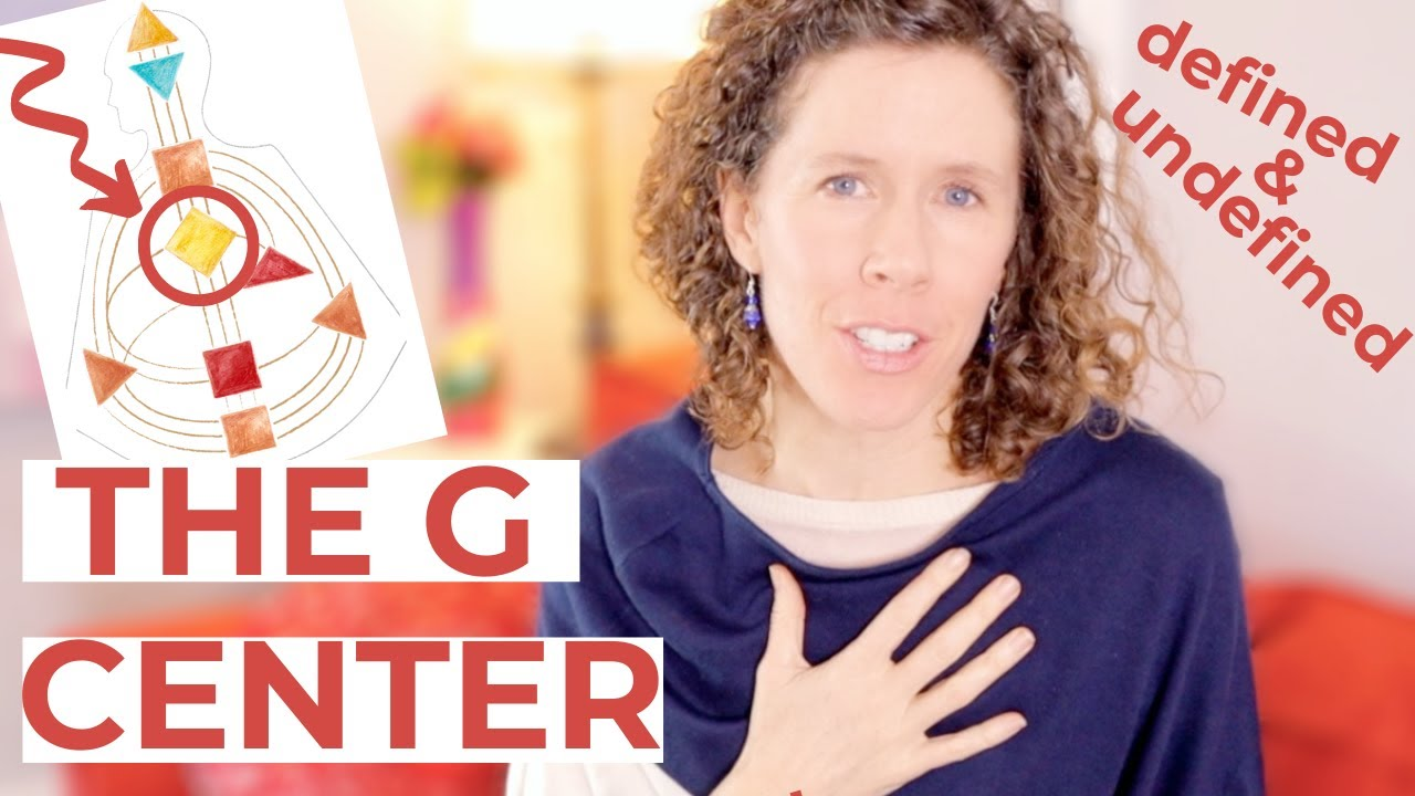 The G CENTER in Human Design // Understand the Defined and Undefined G Center