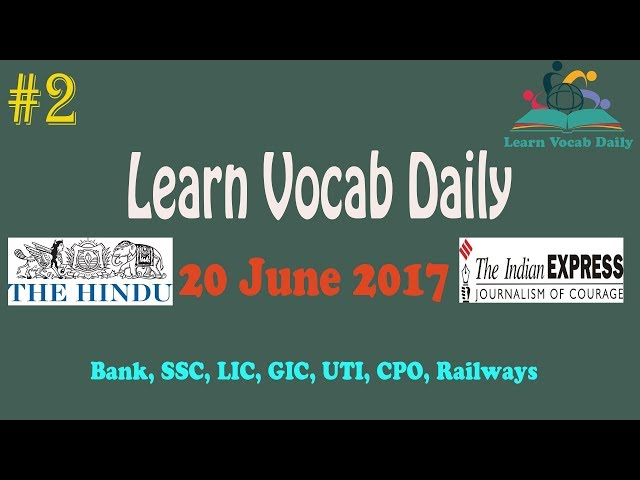 #2 Lean Vocab Daily | Resentment , Contagious, Complacent  / The Hindu / The Indian Express