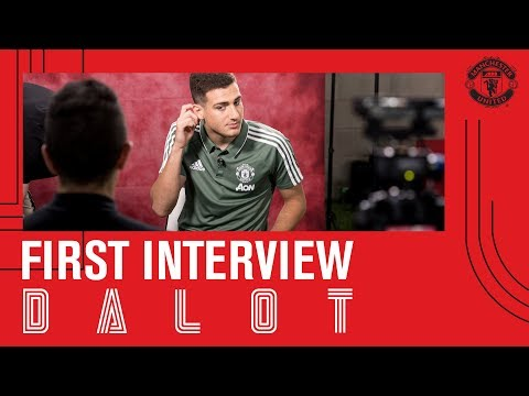 Diogo Dalot's First Interview | Manchester United thumbnail