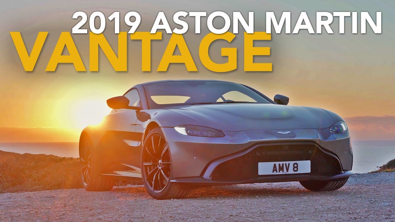 2019 Aston Martin Vantage Review First Drive With Craig Cole Youtube
