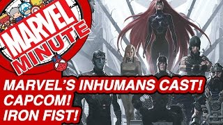 Marvel's Inhumans Cast! Capcom! Iron Fist! - Marvel Minute 2017