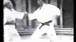 Gichin Funakoshi VS Isao Obata ( KUMITE) thumbnail