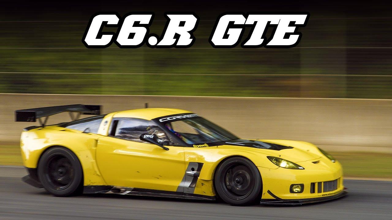 Red Corvette C6 >> Corvette C6.R ZR1 GTE - first BRCC race 2014 - YouTube