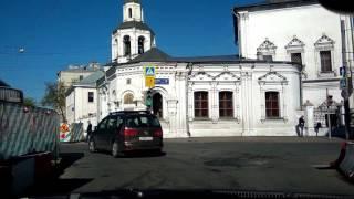 . Москва. Покровка-Кремль-Ордынка-Тульская. Поездка на автомобиле Hyundai Solaris