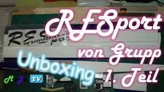 🎁 UNBOXING: RESport von Grupp // Teil 1/4 - EINSTEIGER-SEGLER im RETROLOOK | MaJa-TV #49