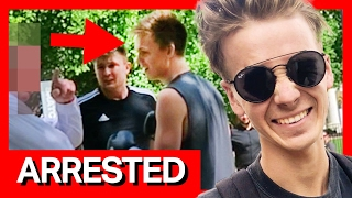 I GOT ARRESTED! *PRANK* ON EX ROOMMATE (fail)
