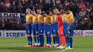 Minute's silence observed prior to Lincoln game