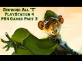 Showing All T PlayStation 4 PS4 Games Part 3 Games List A to Z