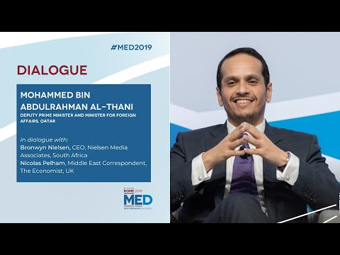#Med2019 | Dialogue with Mohammed bin Abdulrahman Al-Thani