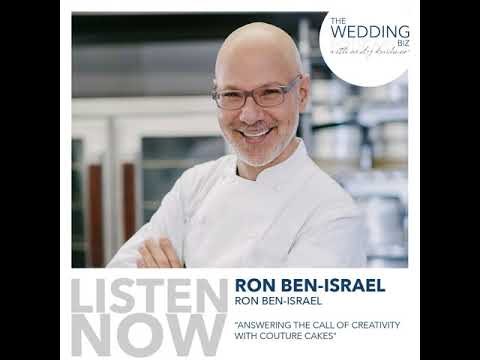 Ron Ben-Israel: Answering the Call of Creativity with Couture Cakes