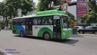 Learn Color With Wheels On The Bus Kim Ma Ha Noi For Kids 🚌🚌🚌 HT BabyTV ✔︎
