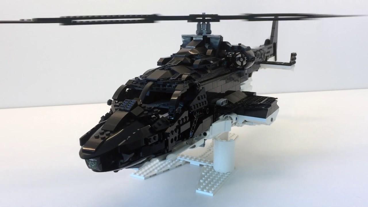 SUPERCOPTER 2 Custom Built LEGO redwolf instructions