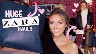 HUGE ZARA TRY ON HAUL | AUTUMN & WINTER!!!