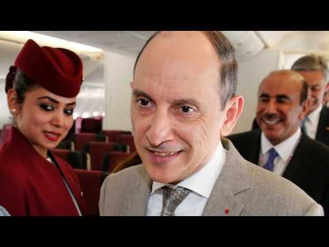 News Update Qatar Airways CEO sorry for calling US air hostesses 'grandmothers' 13/07/17