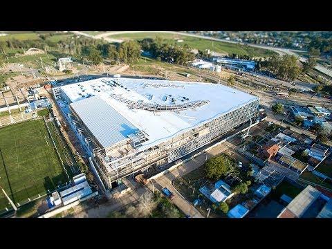 Las Piedras Shopping en construcción    Canelones - Uruguay 2016