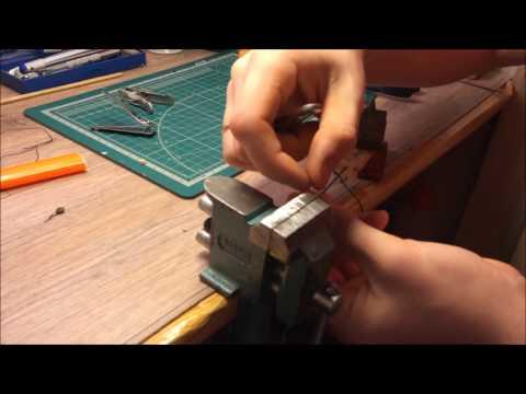 видео: Такелажные работы. Имитация бензеля на модели.