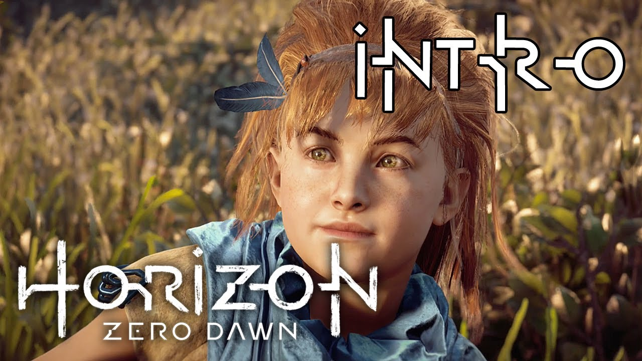 01 Horizion Zero Dawn Intro Her Name Is Aloy Let S Play Gameplay Walkthrough Ps4