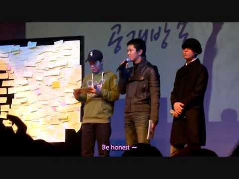 [Engsub]Kim Jeong Hoon wants to meet who in dream?