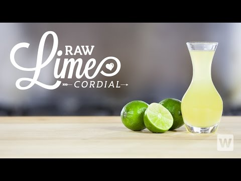 Raw Lime Cordial - Nothing Better for Margaritas or Gimlets!