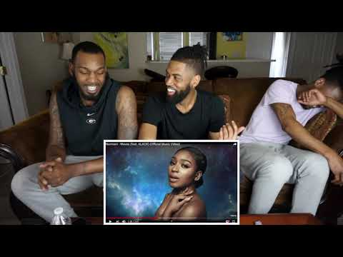 Normani - Waves ft 6LACK    REACTION