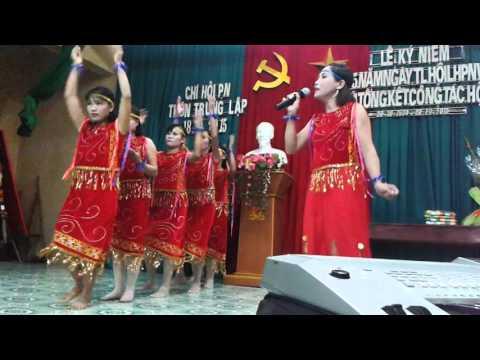 múa hát Cô Gái PaKo .tốp múa thôn Trung Lập - Tri Trung