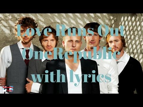 Love Runs Out OneRepublic - Karaoke