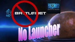 Start Blizzard Games without Battlenet Launcher