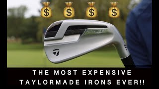 HITTING THE MOST EXPENSIVE IRONS EVER !! TAYLORMADE P790 TI IRONS £2500 !!