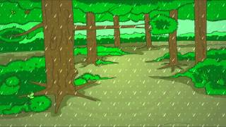 Rain On The Green Grass  - English Nursery Rhymes - Cartoon/Animated Rhymes For Kids