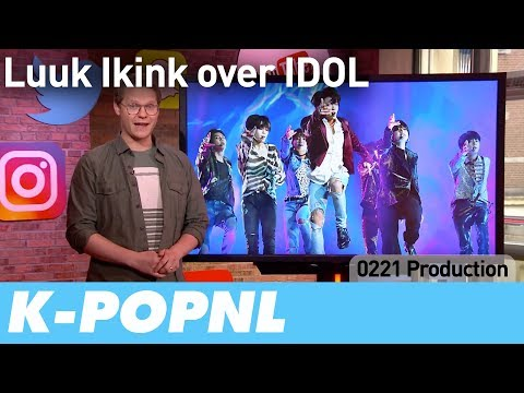 [MEDIA] Dutch Presenter About IDOL (RTL Boulevard) — K-POPNL