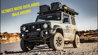 Ultimate Micro Overlander Rig Walk Around (Suzuki Jimny JB74) [ROAM]