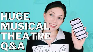 ANSWERING YOUR MUSICAL THEATRE QUESTIONS | Georgie Ashford