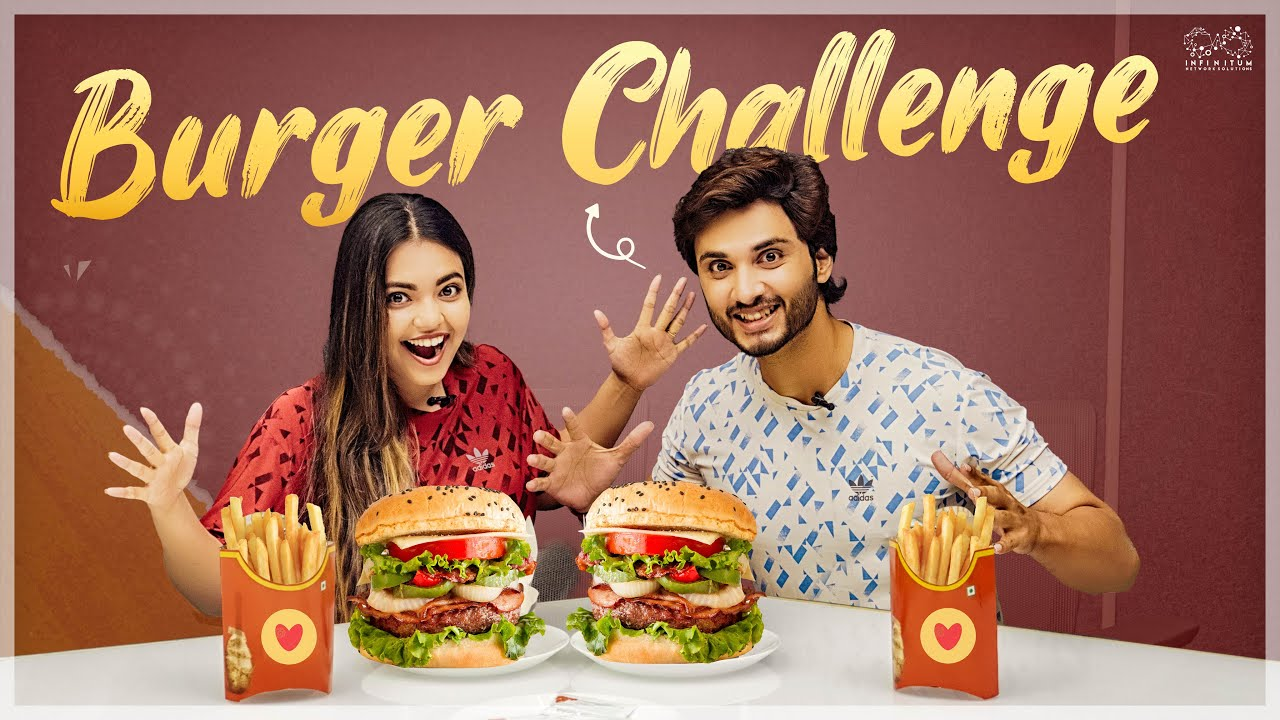 Burger Challenge || Marina Abraham & Rohit Sahni || Infinitum Media