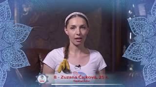MISS FOLKLÓR 2017 | finalistka č. 8 | Zuzana Čajková