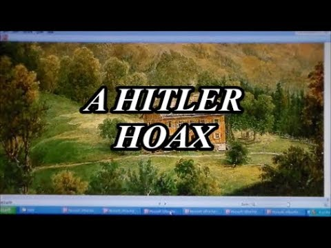 A Hitler Hoax And Nazi Nightmare
