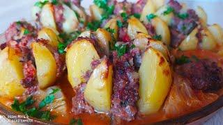 Вкуснотища Удивите Всех Этим Мясным Блюдом Жуда Чиройли Киймали Картошка
