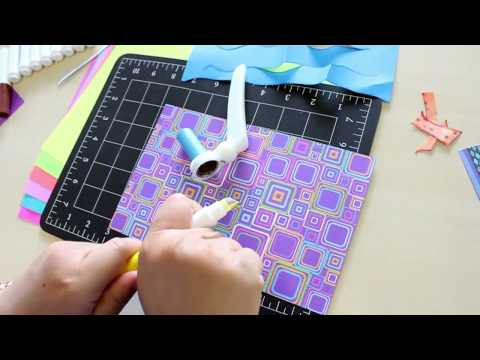 DIY Paper Aquarium Project! Made easy with The ColorCutter® ShapeSHARK™!