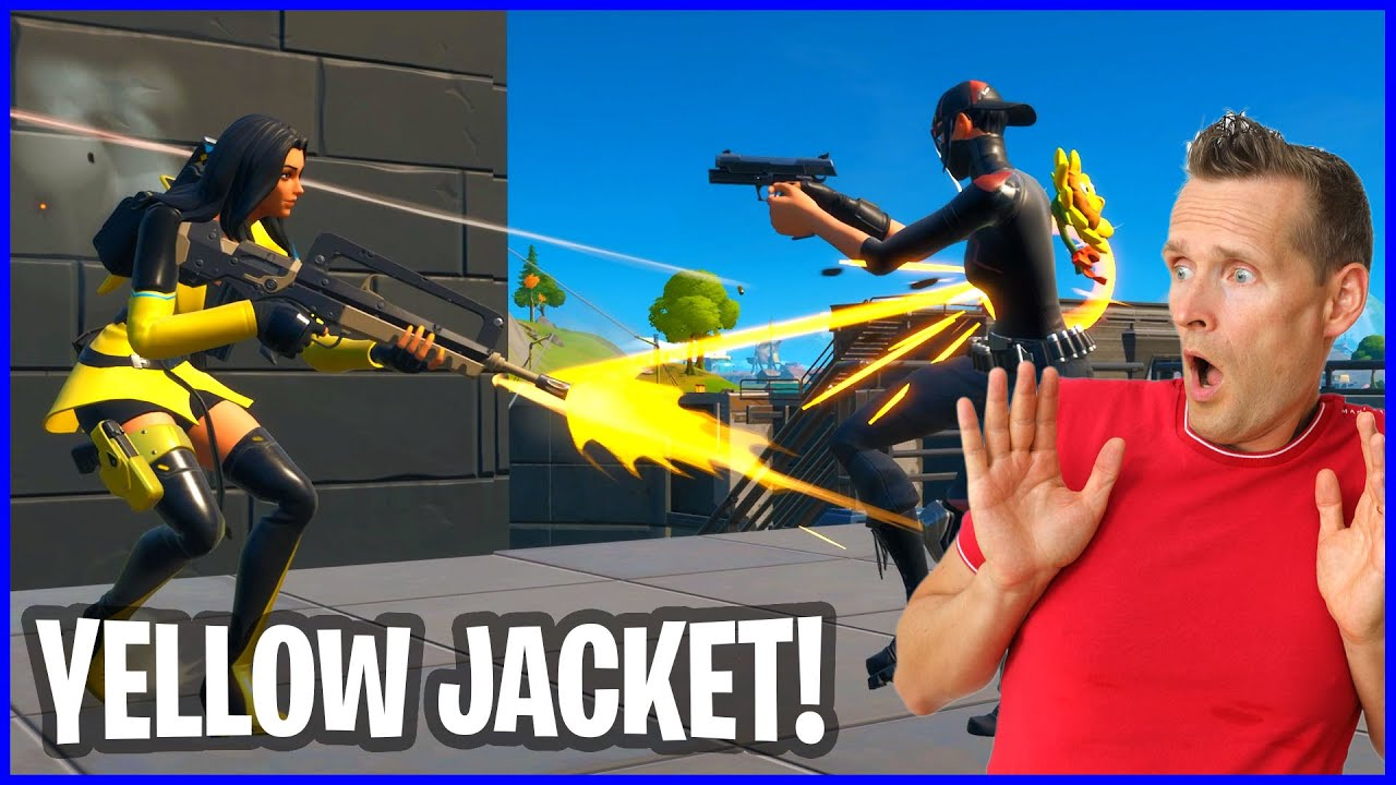 LIMITED TIME ONLY YELLOW JACKET IS HERE!!!