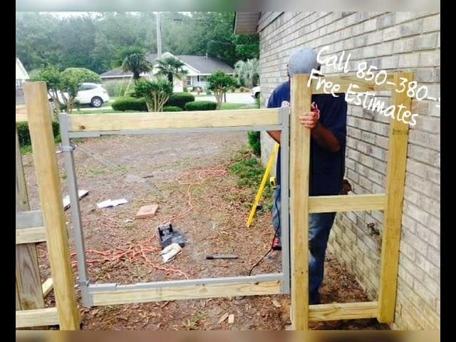 Pensacola Premium Wood Fencing with R&R Services