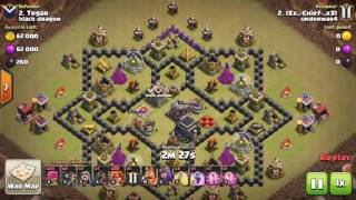 UNDERWAR at Clash of Clans (TH9/CV9) [underwar Family channel/Canal underwar Family]