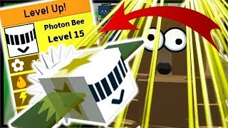 Level 15 *MAX* Photon Bee Beamstorm & Highest Moon Amulet | Roblox Bee Swarm Simulator