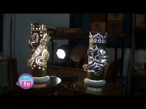 unik-&-keren,-inovasi-indusri-kreatif-wood-craft-karya-pemuda-kampak-trenggalek---bioztv.id