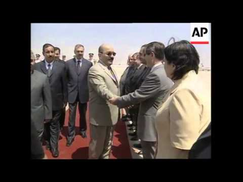Iraqi vice president meets Syrian president