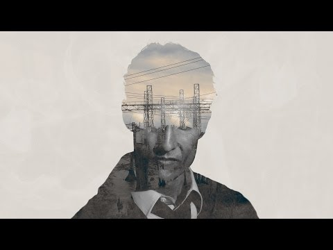 True Detective double exposure in Photoshop