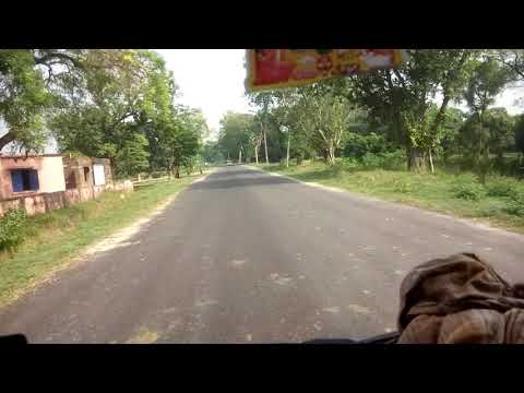 Bagaha to Bettiah road w c bihar 720HD