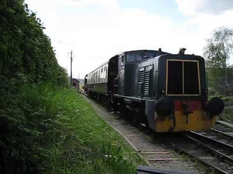 UK: Diesel shunters at the Chinnor & Princes Risborough Railway
