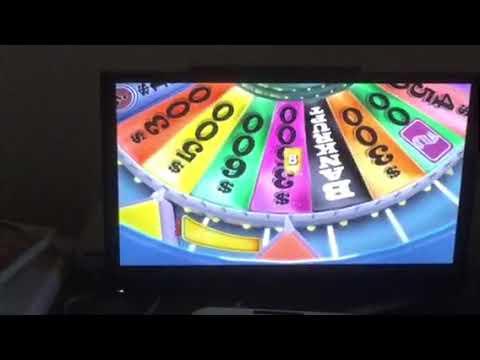 Wheel of Fortune Nintendo Wii (iPad Version) (Game 16) (Part 2)