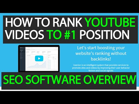 How to Rank YouTube Videos using Userion + Best Practices
