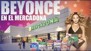 Beyoncé comprando en el Mercadona